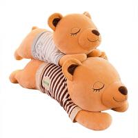 女生睡觉抱枕布娃娃抱抱熊玩偶女友可爱趴趴熊毛绒玩具熊猫公仔