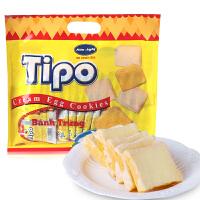 越南进口丰灵Tipo白巧克力面包干300g 牛奶味鸡蛋酥性饼干零食品
