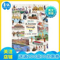 【T&H】A Journey Through Art 艺术之旅 青少年艺术启蒙图书 英文原版