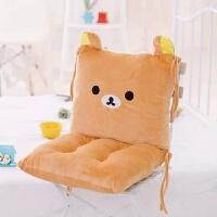 卡通靠垫坐垫一体办公室可爱龙猫腰枕大号坐椅垫护腰靠枕靠背