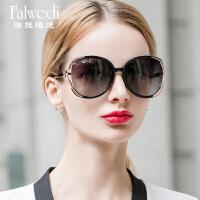 优雅大框偏光太阳镜女士显瘦圆脸眼镜 墨镜长脸潮人