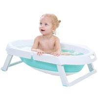 男孩婴儿洗澡盆新生儿童洗澡桶小孩宝宝可折叠浴盆超大号可坐躺通用品 戏水玩具