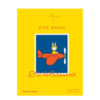 Dick Bruna 迪克・布鲁纳 Miffy米菲兔创作者 作品集 英文原版设计
