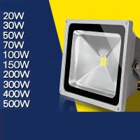 LED投光灯防水照射灯50w户室外广告泛光厂房路灯庭院工矿灯大功率