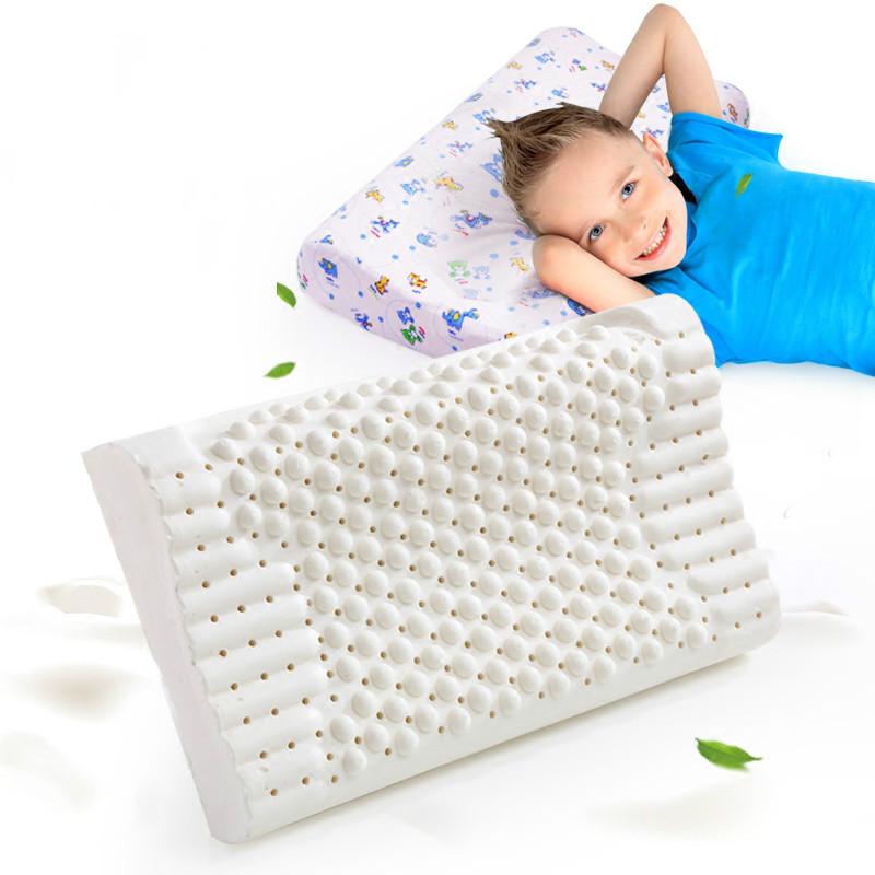 儿童乳胶枕头3-6-16岁幼儿园四季通用记忆枕小学生夏枕芯