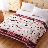 冬季毛毯珊瑚绒毯子加厚法兰绒毛绒床单单件宿舍单人双人学生保暖J