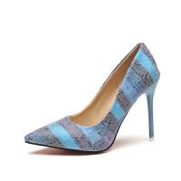 单鞋女春季新款浅口尖头细跟性感大码高跟鞋女鞋
