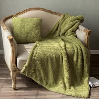 抱枕被子两用羊羔绒靠垫办公室午休毛毯汽车沙发靠枕靠背三合一抱枕被