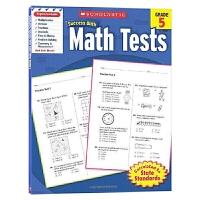 美国小学五年级数学测试题 学乐英语教材 Scholastic Success with Math Tests 5 英文原