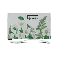 简约现代棉麻布艺 电视保护罩布 客厅台式挂机罩电视盖布 62~65英寸 144x87cm