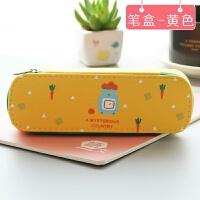 创意文具盒笔袋女韩国 简约女生小清新可爱初中生文具收纳盒