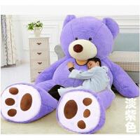 2米大号熊毛绒玩具公仔1.8抱抱熊大抱熊娃娃熊猫女生泰迪熊送女友