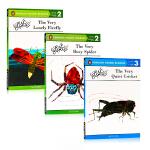 卡尔爷爷3册合售英文原版分级读物The Very Lonely Firefly/Very Busy Spider/Ve