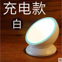 感应灯人体声控卧室智能创意小夜灯米家橱柜楼梯充电小米灯泡