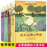 官方全套4册 长青藤国际大奖小说书系 从天而降的幸运+蓝莓季节+宇宙最后一本书+地下121天 纽伯瑞