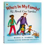 我的家里有谁?Who's In My Family? All About Our Families 英文原版绘本 家庭