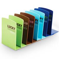 得力9279 彩色系列 学生书立 彩色书立 165mm(6.5寸) 学生书立 彩色书立
