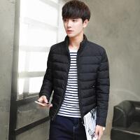 男士羽绒服冬季轻薄新款韩版修身潮流帅气短裤青少年冬装外套