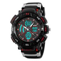 男士大表盘个性电子手表潮流男学生户外运动多功能时尚腕表