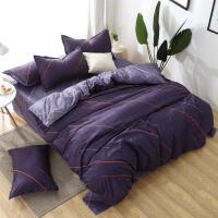床单三件套学生宿舍单人1.2m1.5米x1.8棉被单单件2.0被套四件T 2.2四件套 被套220x240