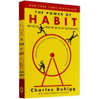 The power of habit 习惯的力量 英文原版 心理学书籍 经济管理读物 英文版原版 进口书籍