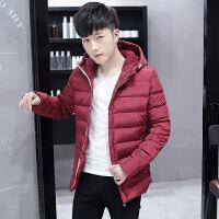 青少年男装上衣13-14-15-16-17岁男孩冬装外套棉袄初中学生棉衣潮