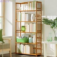 简易置物架多功能整理架实木多层落地书架卧室收纳架储物架层架