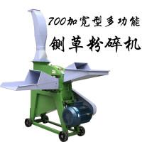 大型多功能700牛羊干湿玉米秸杆铡草粉碎机 粗粮玉米芯饲料粉碎机