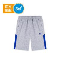 【书香节下单立减价:55.6】361度 男童针织五分裤 夏季新款K51821523