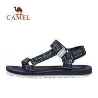 camel骆驼户外沙滩鞋 男款舒适耐磨透气轻盈回弹运动凉鞋