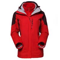 探路者TOREAD女款女士三合一套绒保暖防风防泼水冲锋衣 TAWC92170