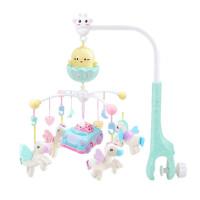 婴儿床铃音乐旋转摇铃0-3-6个月新生儿玩具女宝宝床头铃男孩
