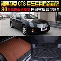 凯迪拉克CTS专车专用尾箱后备箱垫子 改装脚垫配件