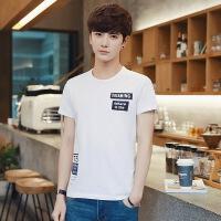 2018春夏男士短袖T恤新款半袖韩版日系潮流夏季体恤学生个性男装