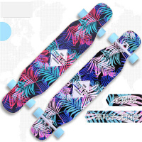 【支持礼品卡】长板四轮滑板初学者公路刷街男女生舞板专业抖音滑板车 k7i