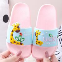 夏季可爱女童拖鞋亲子儿童室内防滑软底洗澡小孩中大童宝宝凉拖鞋
