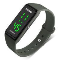 男女学生防水LED电子表潮流时尚轻巧便利户外运动中性腕表