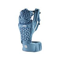 【网易考拉】POGNAE 多功能婴儿背带腰凳 四季透气款 PGN-OG-008 蓝莓色