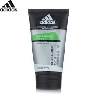 阿迪达斯 Adidas劲透控油男士深层洁面膏100ml 男士洗面奶