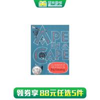 英文原版绘本 Ape in a Cape: An Alphabet of Odd Animals 笼子里的猩猩:怪动物