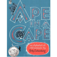 全店�M300�p100】英文原版�L本 Ape in a Cape: An Alphabet of Odd Animals