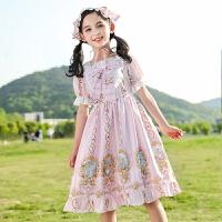 女童连衣裙女孩公主裙夏装儿童夏季中大童裙子