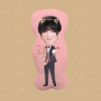 华晨宇人形抱枕定制DIY图片定做靠垫异形枕头卡通动漫生日礼物