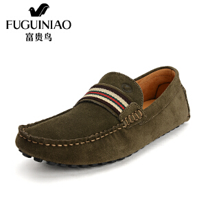 富贵鸟 新潮豆豆鞋男驾车鞋英伦潮流男鞋休闲鞋子