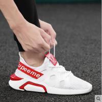 快手红人精神小伙社会运动休闲跑步抖音同款小白潮鞋韩版潮流男鞋