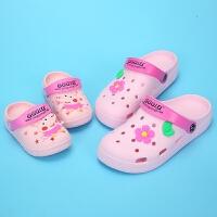 拖鞋夏季 母女防滑软底儿童男女宝宝凉拖鞋 女
