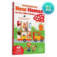 New Homes 小朋友的新家 英文原版 装扮游戏童书