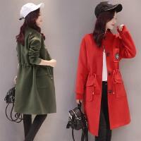 毛呢外套女装秋冬季新款时尚韩版收腰显瘦中长款大口袋呢大衣