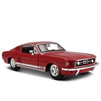 1967福特野马GT跑车模型仿真合金汽车模型摆件