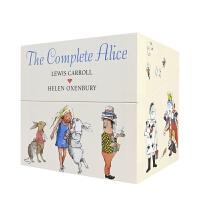 【首页抢券300-100】The Complete Alice 爱丽丝全集套装精装 爱丽丝梦游仙境 爱丽丝镜中奇遇记 英